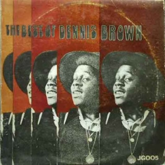 The Best Of Dennis Brown LP front cover
