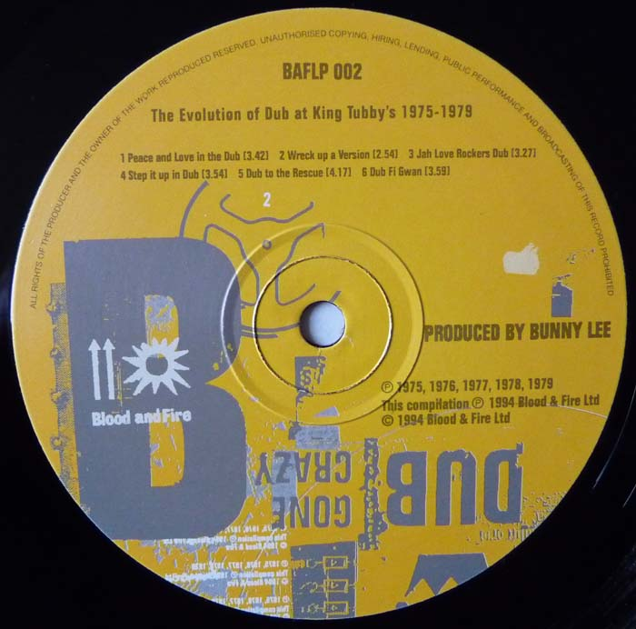 King Tubby And Friends - Dub Like Dirt 1975-1977