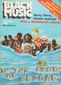 'Black Music' magazine from February 1976