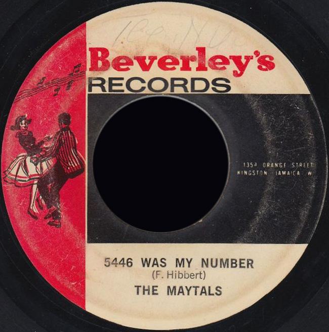 Maytals Beverleys All Stars Johnny Cool Man