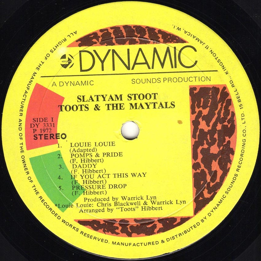 The Maytals 5446 Was My Number