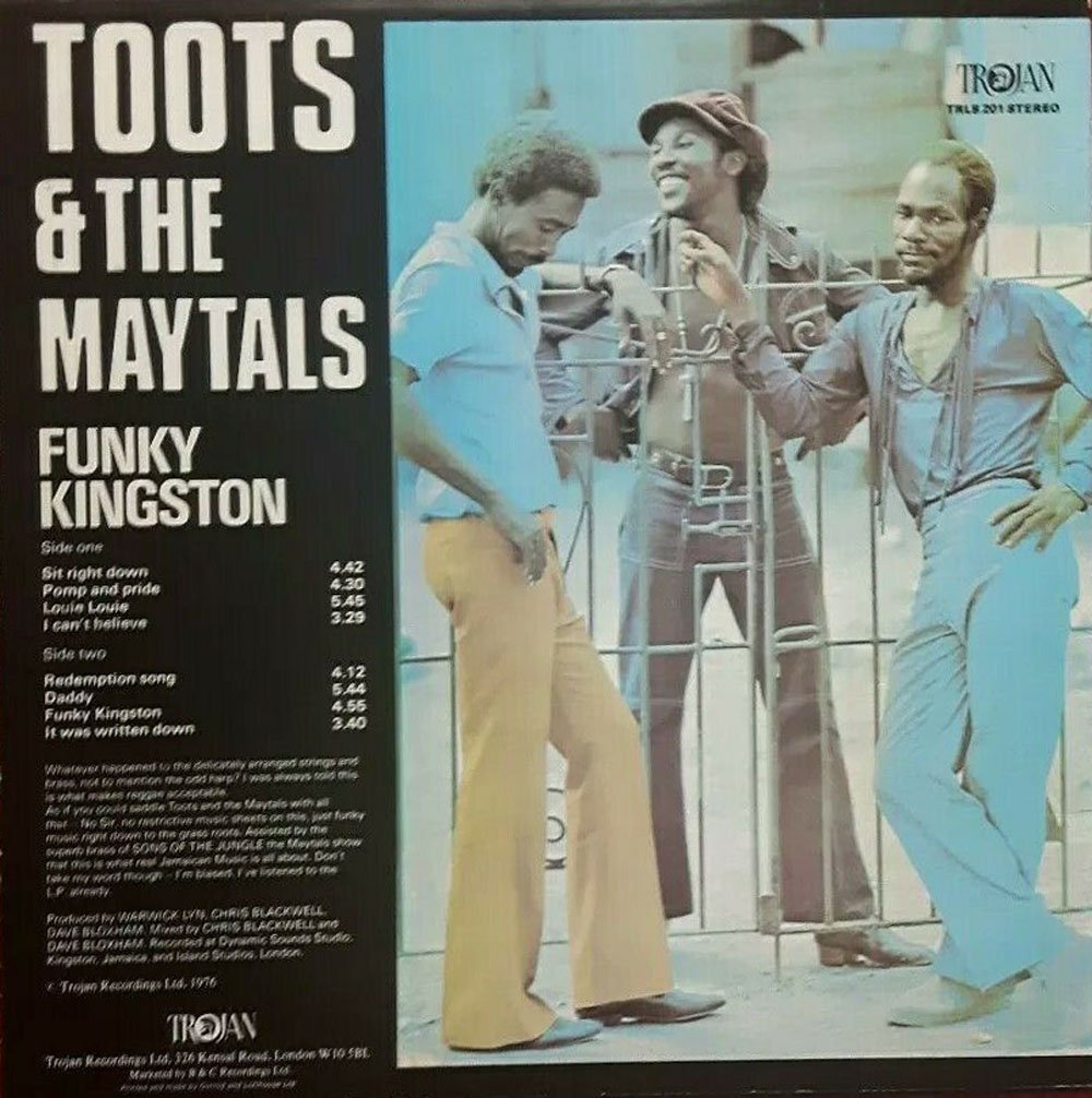 Maytals Dr Lester