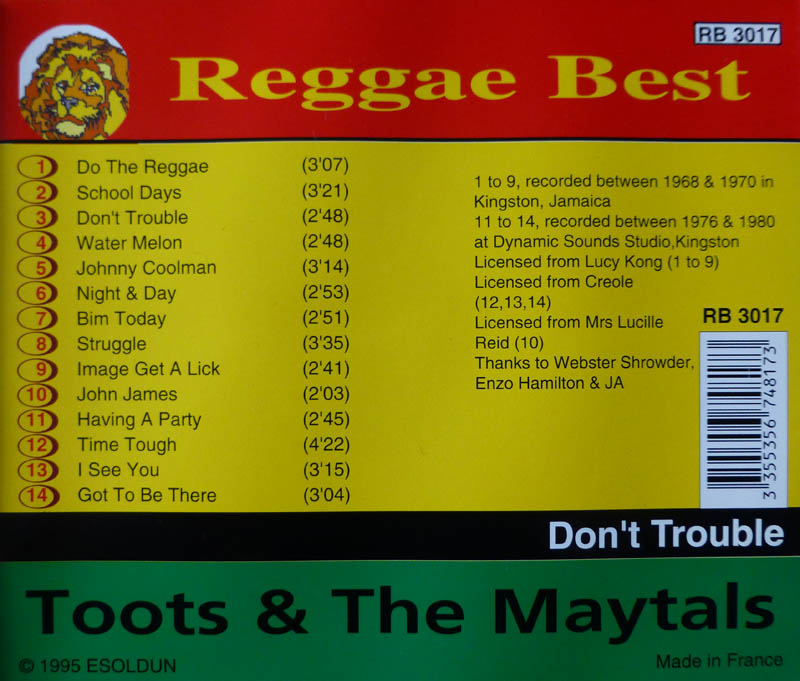 Gregory Isaacs - The Mighty Two Mighty Two Babylon Too Rough - I Stand Accused